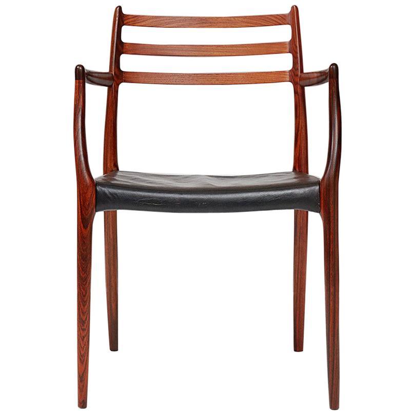 Niels Moller Model 62 Chair, Rosewood