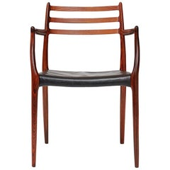 Niels Moller Model 62 Chair, Rosewood