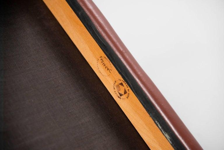 Niels Moller Model 80 teak chairs 6x Denmark 1966 For Sale 4