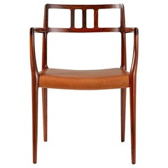 Niels Moller Model Rosewood Model 64 Chair