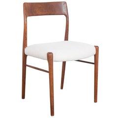 Niels Moller No. 77 Upholstered Teak Chair