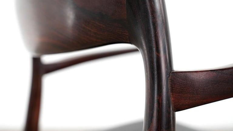 Niels O. Møller Carver Chair Model 57 by J.L Møllers Møbelfabrik, Denmark, 1959 For Sale 3