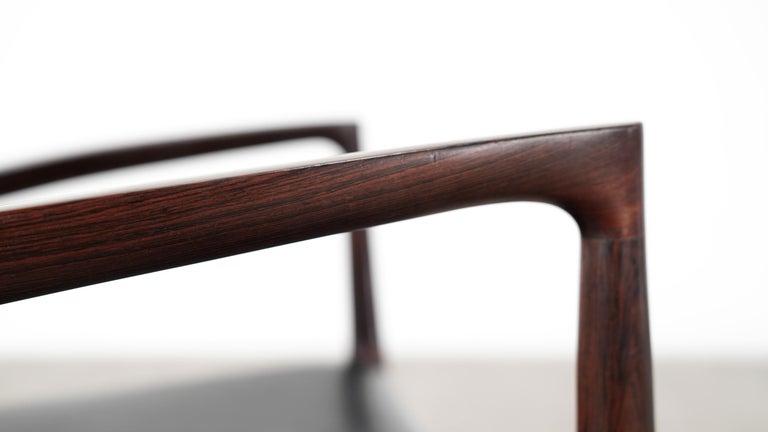 Niels O. Møller Carver Chair Model 57 by J.L Møllers Møbelfabrik, Denmark, 1959 For Sale 4