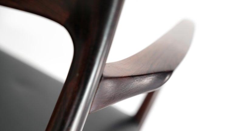 Niels O. Møller Carver Chair Model 57 by J.L Møllers Møbelfabrik, Denmark, 1959 For Sale 2