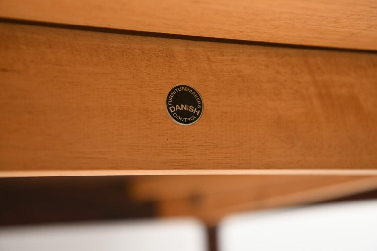 Niels O. Møller for J.L Møllers Møbelfabrik Rosewood Dining Table For Sale 4