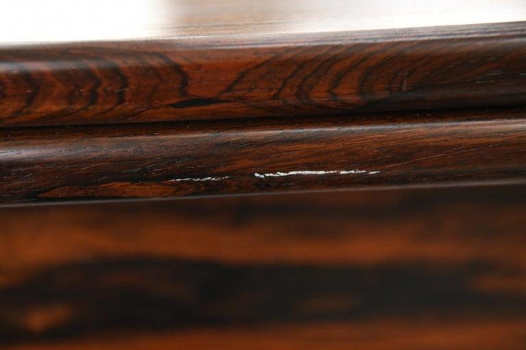 Niels O. Møller for J.L Møllers Møbelfabrik Rosewood Dining Table For Sale 5