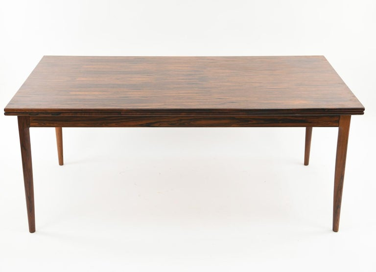 Mid-Century Modern Niels O. Møller for J.L Møllers Møbelfabrik Rosewood Dining Table For Sale