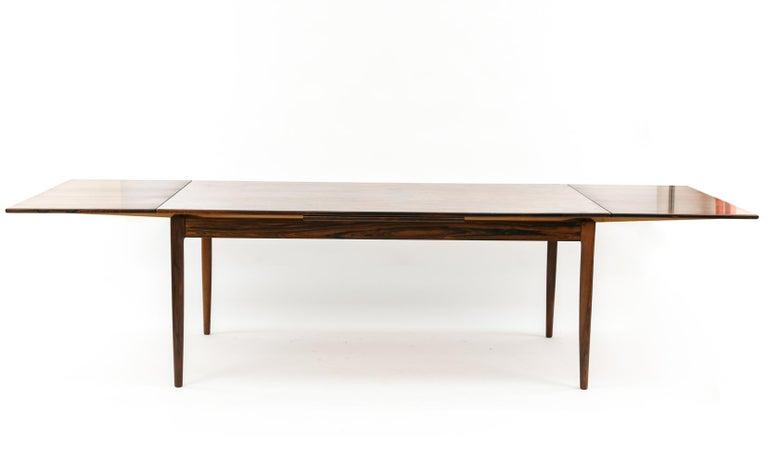 Mid-20th Century Niels O. Møller for J.L Møllers Møbelfabrik Rosewood Dining Table For Sale