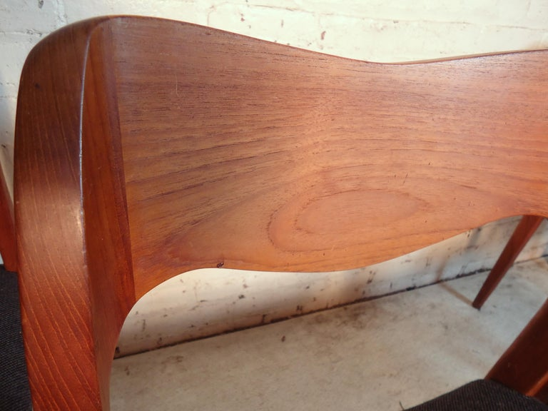 Teak Niels O. Møller Model #71 Dining Chairs For Sale