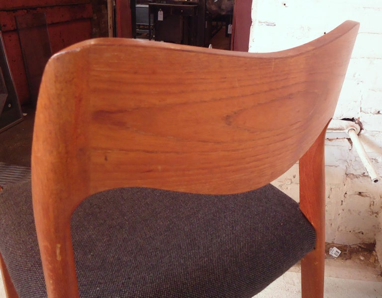 Niels O. Møller Model #71 Dining Chairs For Sale 3