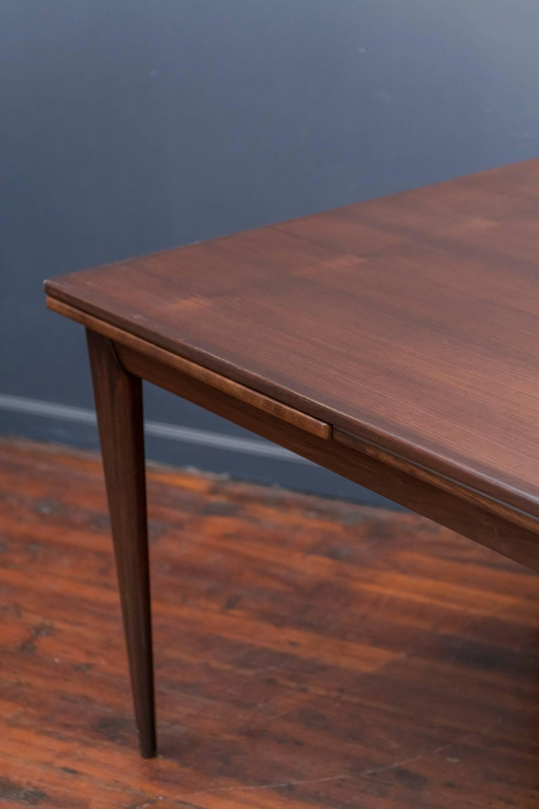 Scandinavian Modern Niels O. Moller #12 Rosewood Dining Table For Sale