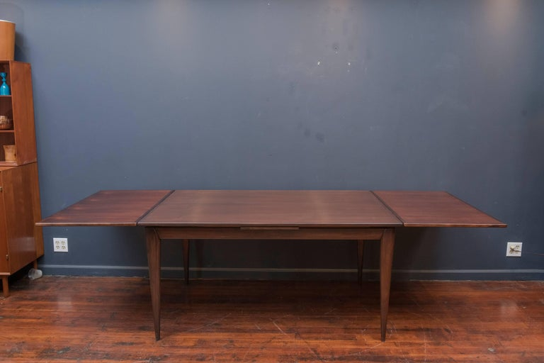 Niels O. Moller #12 Rosewood Dining Table In Excellent Condition For Sale In San Francisco, CA