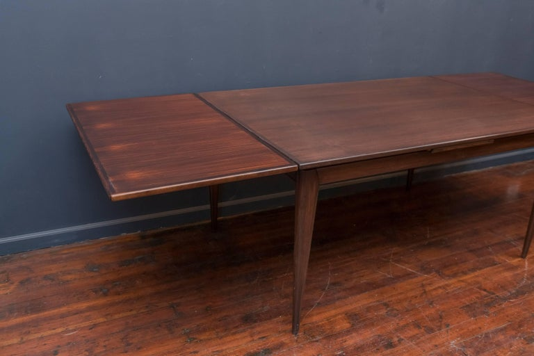 Niels O. Moller #12 Rosewood Dining Table For Sale 1
