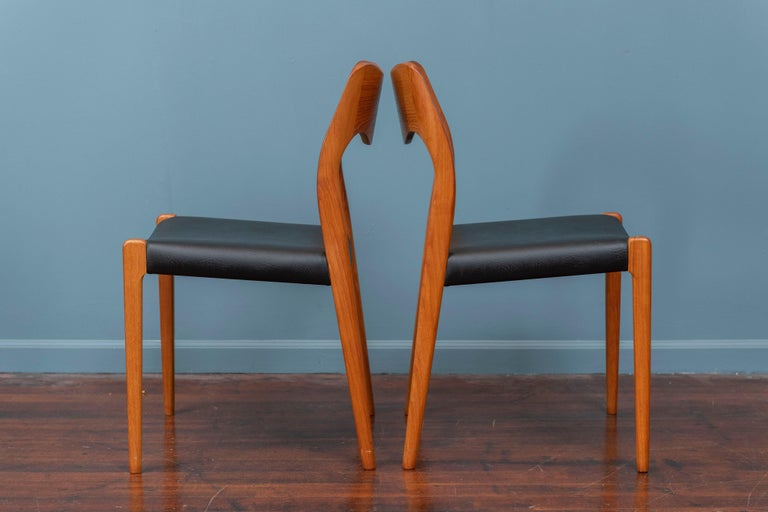 Danish Niels O. Moller Dining Chairs, Model 71 For Sale