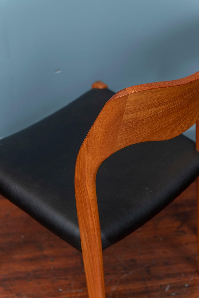 Late 20th Century Niels O. Moller Dining Chairs, Model 71 For Sale