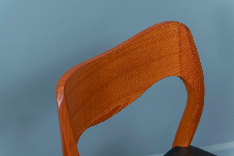 Teak Niels O. Moller Dining Chairs, Model 71 For Sale