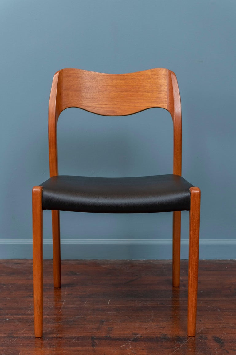 Niels O. Moller Dining Chairs, Model 71 For Sale 1