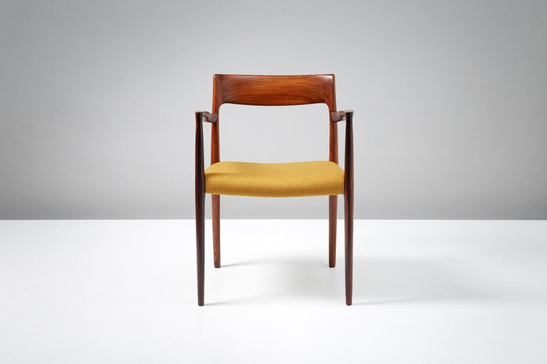 Niels O. Møller Model 57 armchair. 