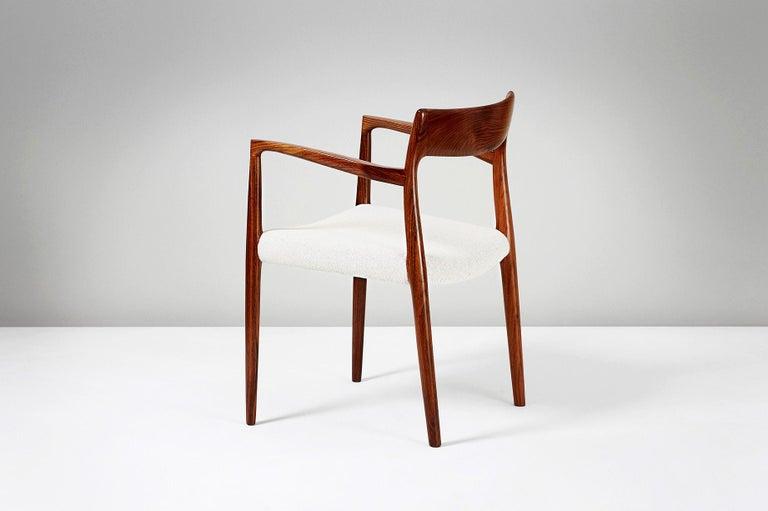 Niels O. Moller Model 57 Rosewood Carver Chair 1