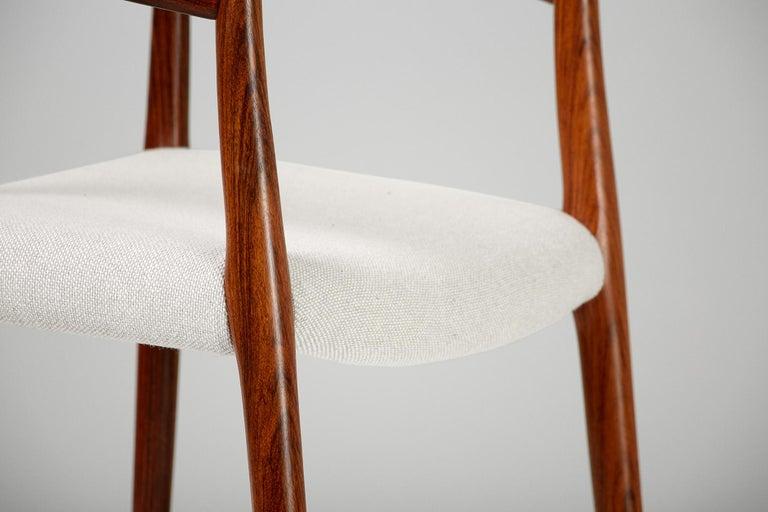 Niels O. Moller Model 57 Rosewood Carver Chair 2