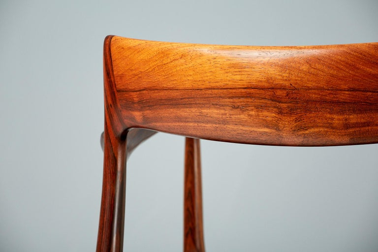 Niels O. Moller Model 57 Rosewood Carver Chair For Sale 1