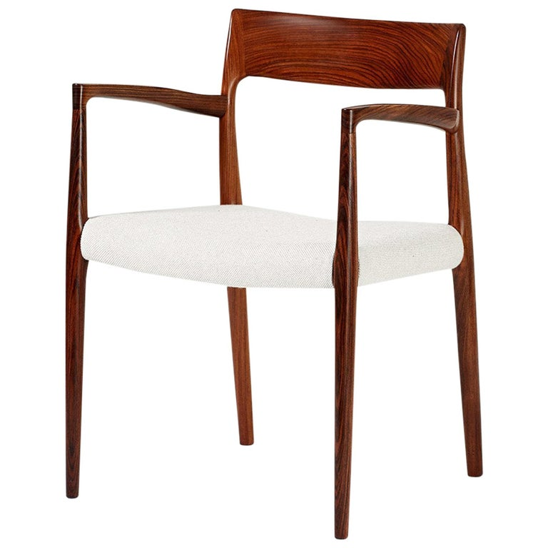 Niels O. Moller Model 57 Rosewood Carver Chair