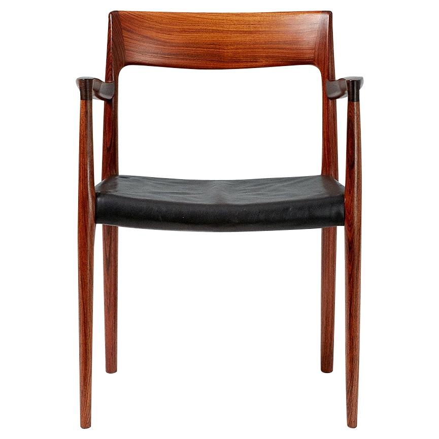 Niels O. Moller Model 57 Rosewood Carver Chair
