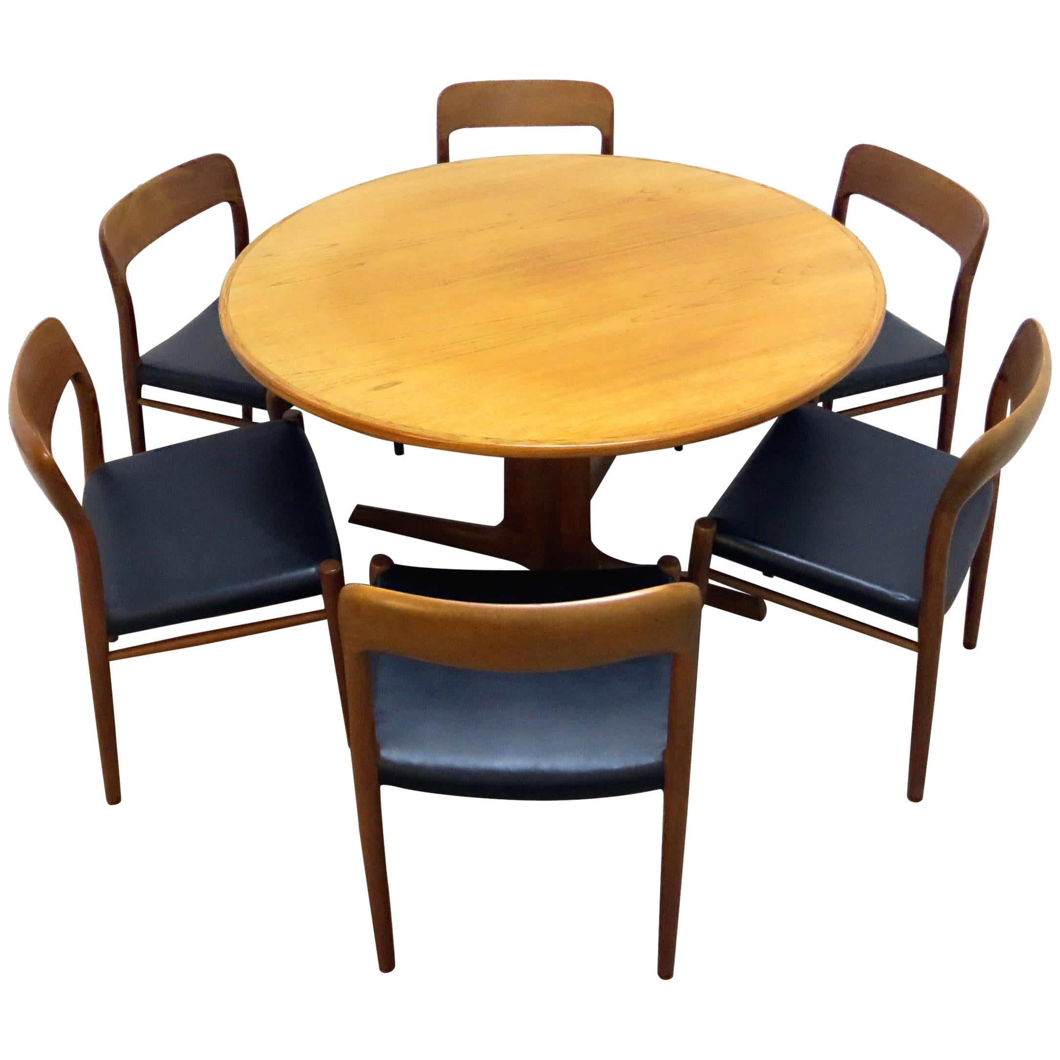 Enjoyable Modern Dining Table And Chair Sets 434 For Sale On 1Stdibs Download Free Architecture Designs Aeocymadebymaigaardcom