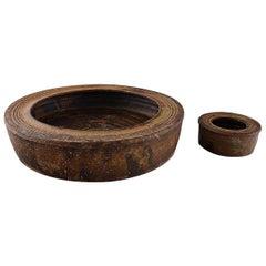 Niels Oluf 'Jeppe' Thorkelin-Eriksen, Danish Ceramist, 2 Low Bowls