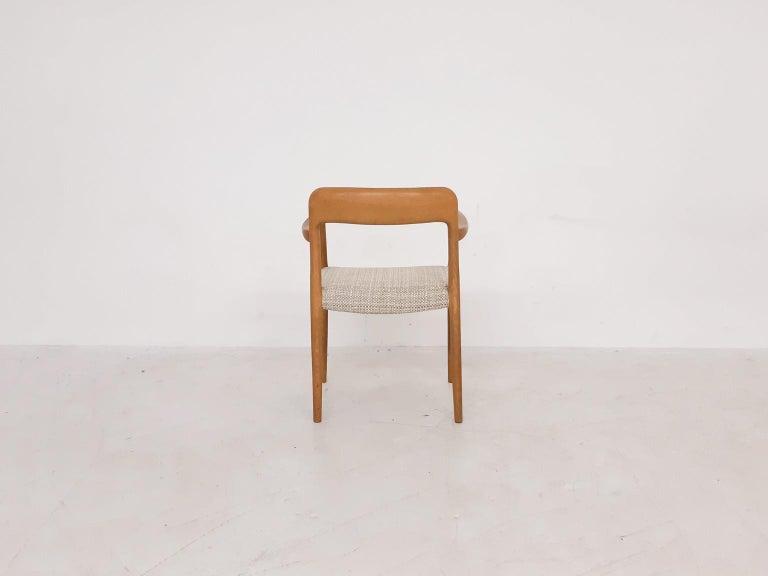 Danish Niels Otto Møller Oak Armchair or Dining Chair, Model 56, Denmark, 1959 For Sale