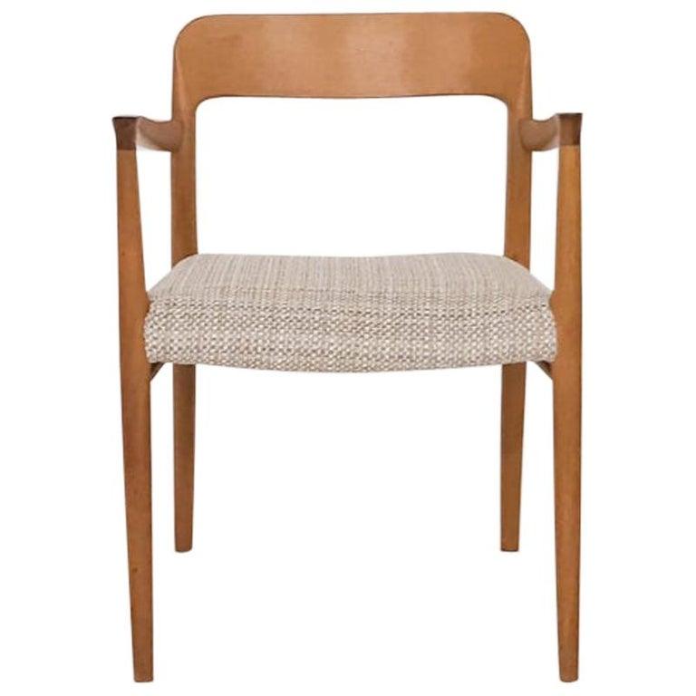 Niels Otto Møller Oak Armchair or Dining Chair, Model 56, Denmark, 1959 For Sale