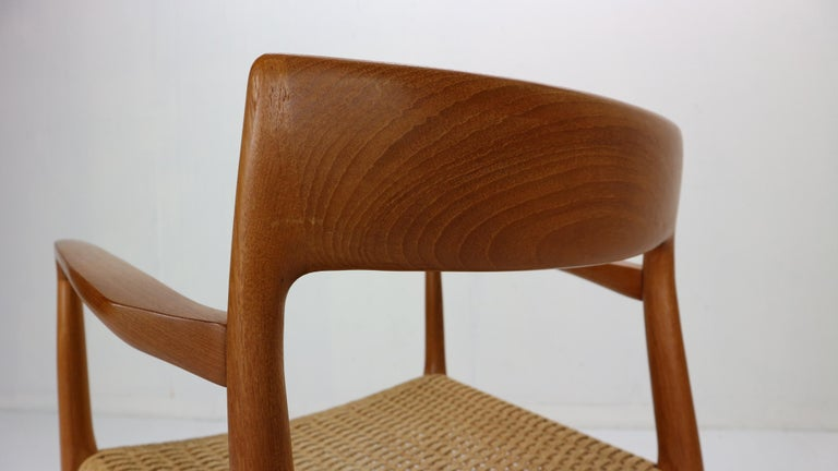Niels Otto Møller Set of Two Armchairs