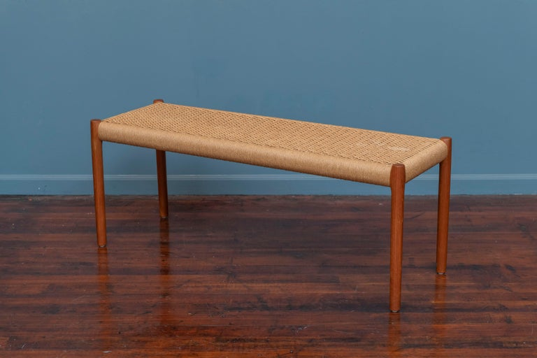 Danish Niels Otto Moller Bench Model 63A For Sale