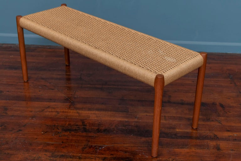 Late 20th Century Niels Otto Moller Bench Model 63A For Sale