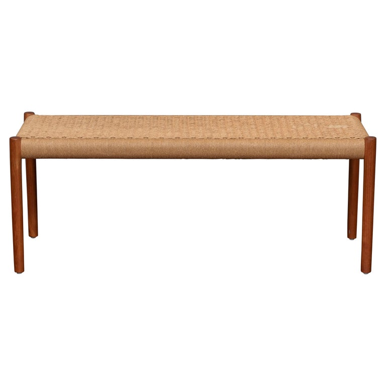 Niels Otto Moller Bench Model 63A For Sale