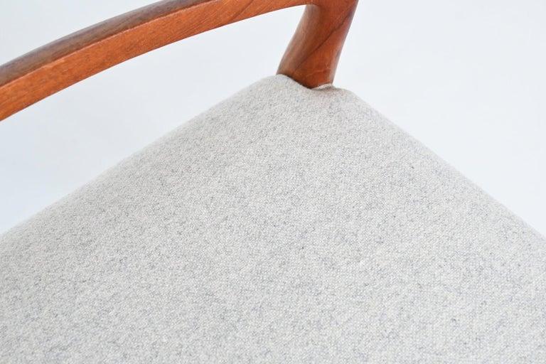 Niels Otto Moller Model 82 Teak Dining Chairs J.L. Moller Mobelfabrik Denmark 19 For Sale 6