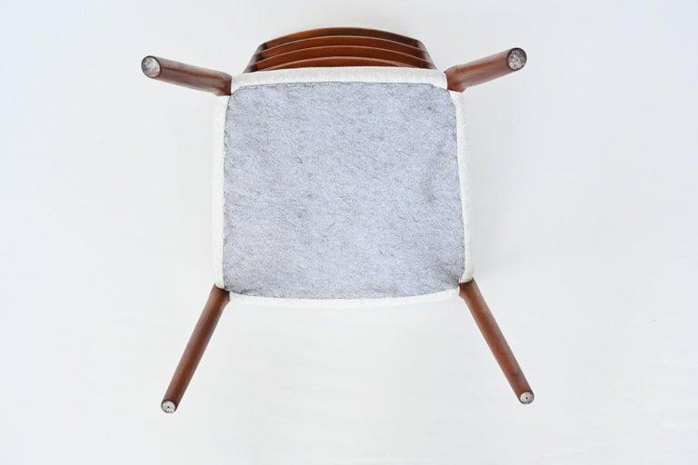 Niels Otto Moller Model 82 Teak Dining Chairs J.L. Moller Mobelfabrik Denmark 19 For Sale 8