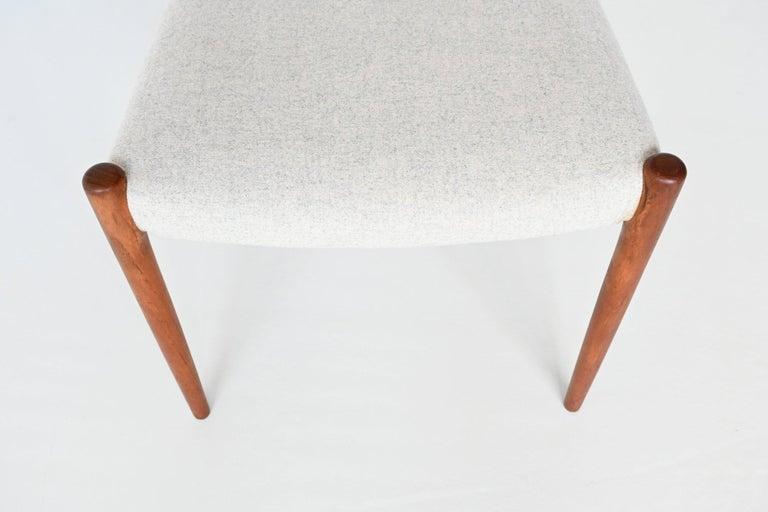 Niels Otto Moller Model 82 Teak Dining Chairs J.L. Moller Mobelfabrik Denmark 19 For Sale 1