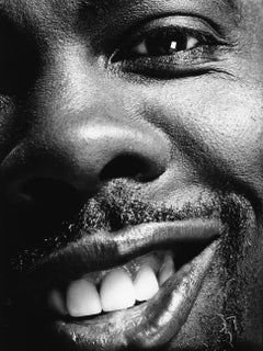 art celebrity portrait photography of Chris Rock by Nigel Parry