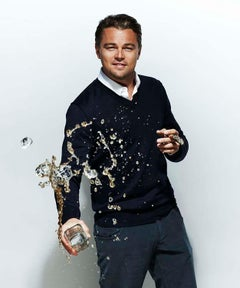 art celebrity portrait photography of Leonardo DiCaprio by Nigel Parry