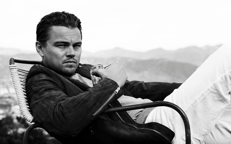Leonardo DiCaprio by Nigel Parry Nigel Parry began his photographic career in London in 1988 and moved to New York City in 1994. Since then, he has been commissioned by the most distinguished publications, advertising agencies, entertainment,