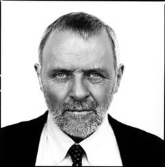 art celebrity portrait photography of Sir Anthony Hopkins by Nigel Parry