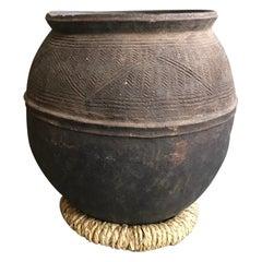 Nigerian Handmade Clay Jug