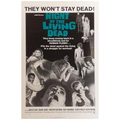 """""""Night Of The Living Dead"""" 1968 Poster"""