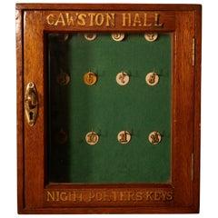 Night Porters Key Cupboard from Cawston Hall