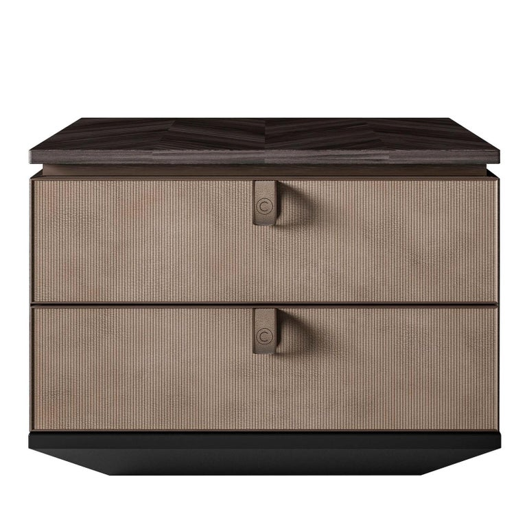 Contemporary Night Side Table For Sale