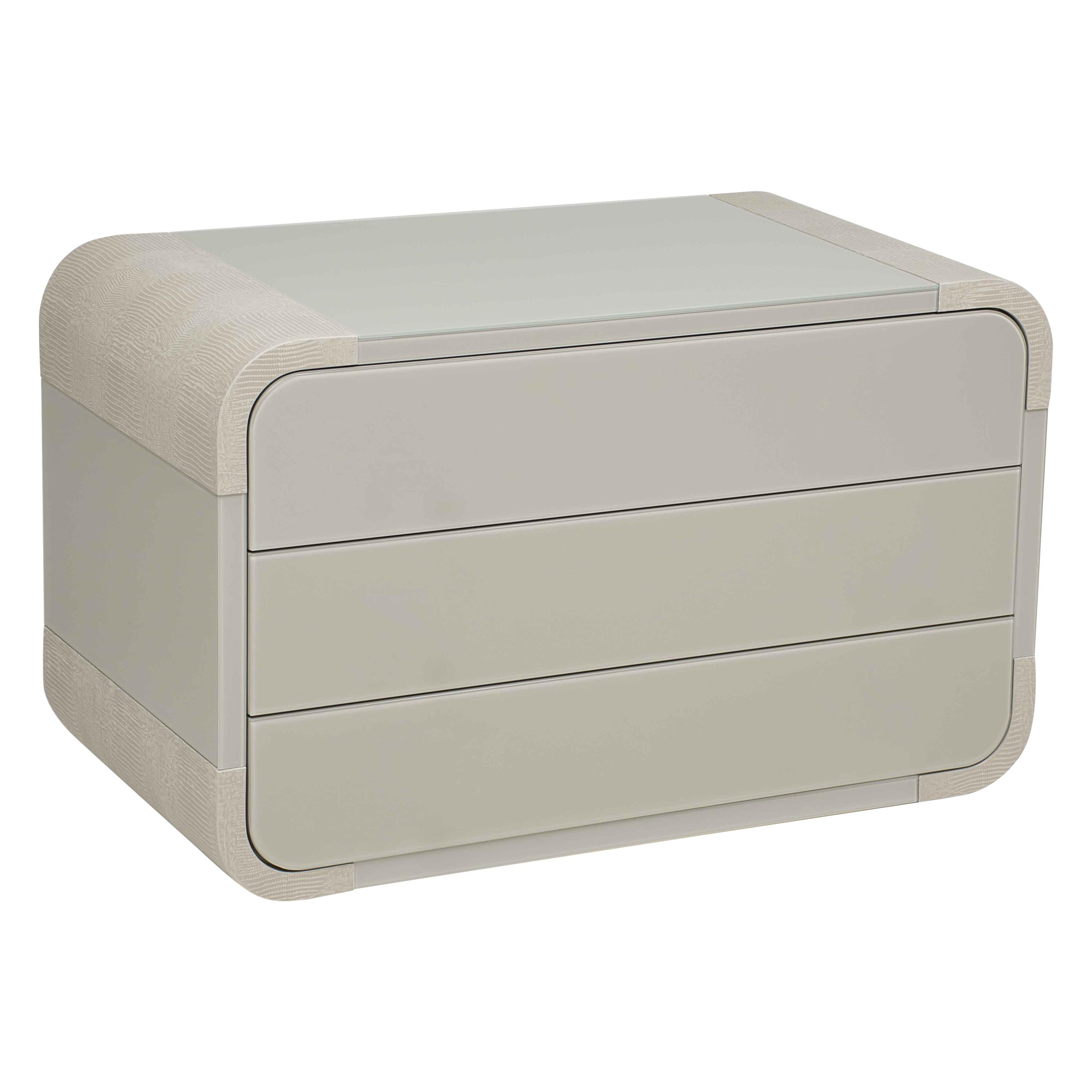 Nightstand with Drawers, Boulder