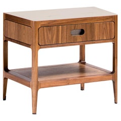 Nightstand with Single Drawer and Shelf by Munson Furniture