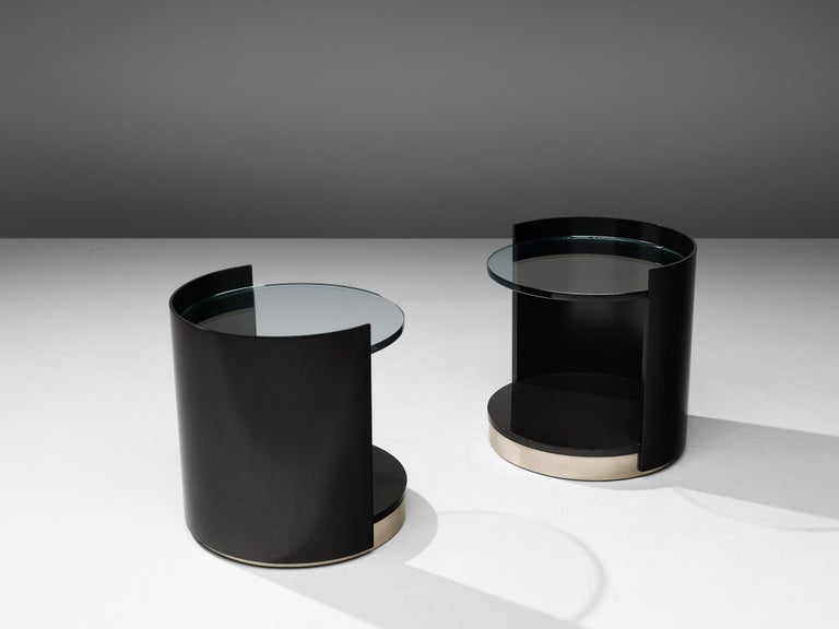 Mid-Century Modern Nightstands by Gianni Moscatelli for Formanova For Sale