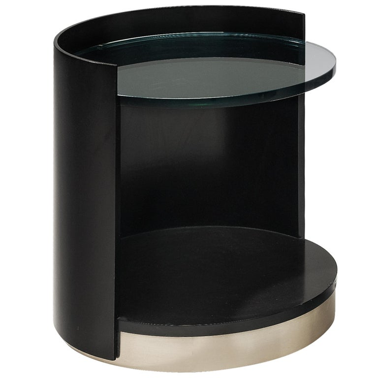 Italian Nightstands by Gianni Moscatelli for Formanova For Sale